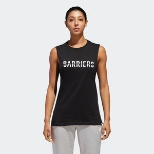NWT ADIDAS Climalite Barriers Graphic Tank Top
